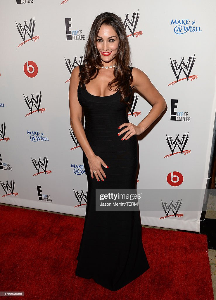 Diva Nikki Bella attends WWE & E! Entertainment's 'SuperStars For Hope' at the Beverly Hills Hotel on August 15, 2013 in Beverly Hills, California.
