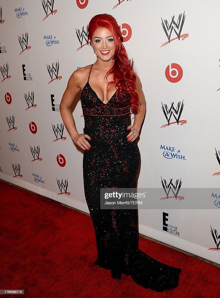 Diva star Eva Marie attends WWE & E! Entertainment's 'SuperStars For Hope' at the Beverly Hills Hotel on August 15, 2013 in Beverly Hills, California.
