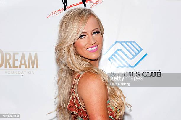 WWE diva Summer Rae attends WWE's 2014 SuperStars For Kids at the New Orleans Museum of Art on April 3 2014 in New Orleans City