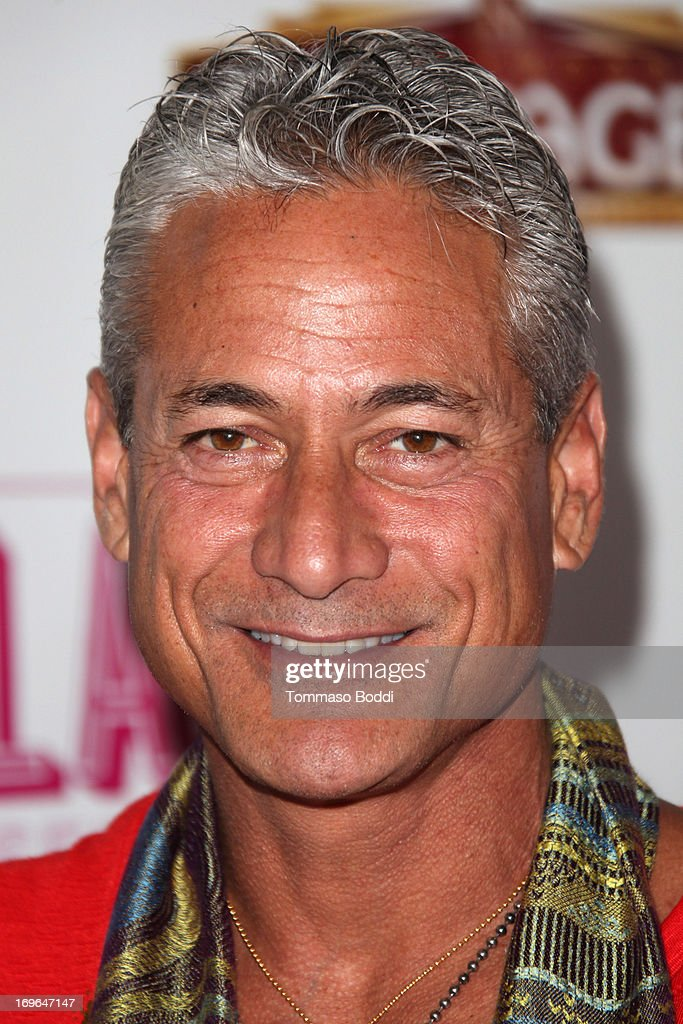 Diver and author <a gi-track='captionPersonalityLinkClicked' href=/galleries/search?phrase=Greg+Louganis&family=editorial&specificpeople=217786 ng-click='$event.stopPropagation()'>Greg Louganis</a> attends the 'Priscilla Queen Of The Desert' Los Angeles opening night held at the Pantages Theatre on May 29, 2013 in Hollywood, California.
