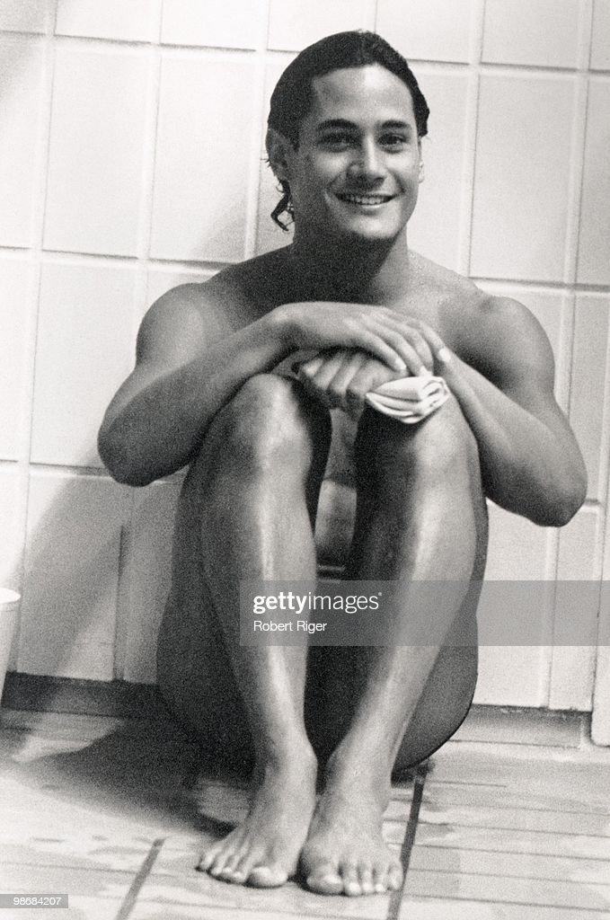 Diver Greg Louganis, circa 1980s.