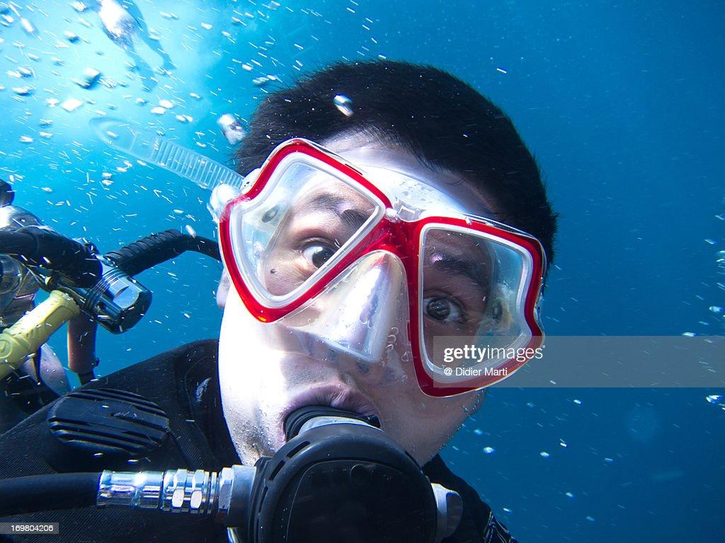 Diver's portrait
