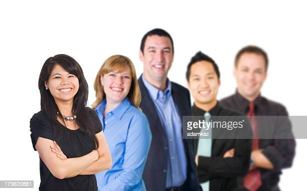 Diverse, Confident Corporate Team (XXL)