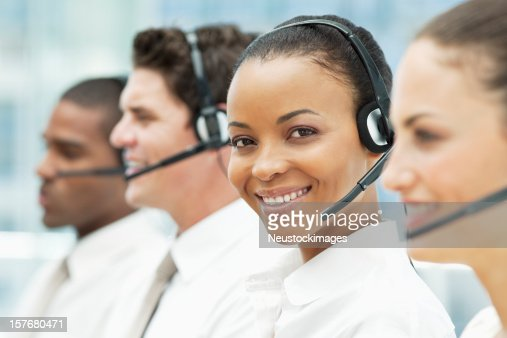 Diverse Customer Service Portrait