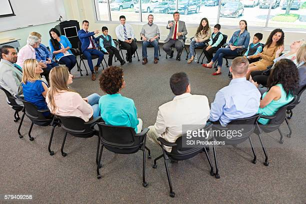 Diverse discussion group