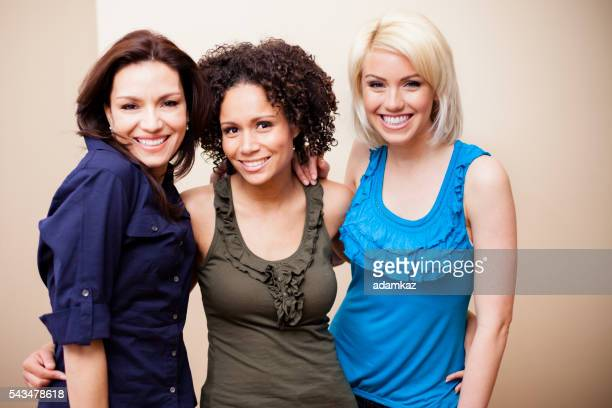 Diverse Group of Attractive Girls