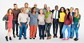 Diverse Group of People Community Togetherness Concept