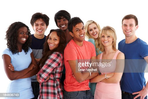 Diverse Group of Teenagers
