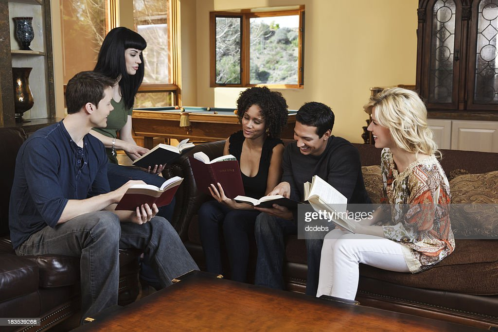 Diverse Group Of Smiling Young Adults stock photo iStock