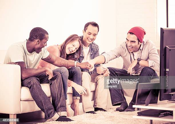 Diverse Group of Young Adults