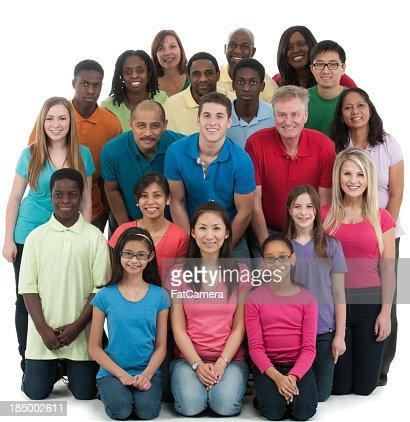 Diverse group