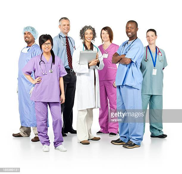 Diverse Team of Healthcare Professionals