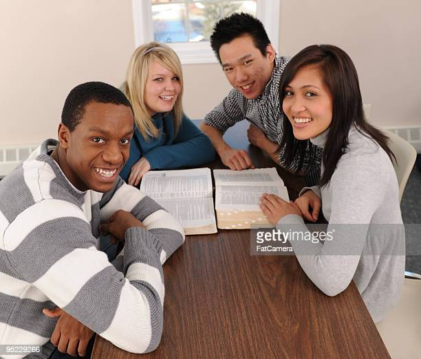 Diverse Young Adult Bible Study