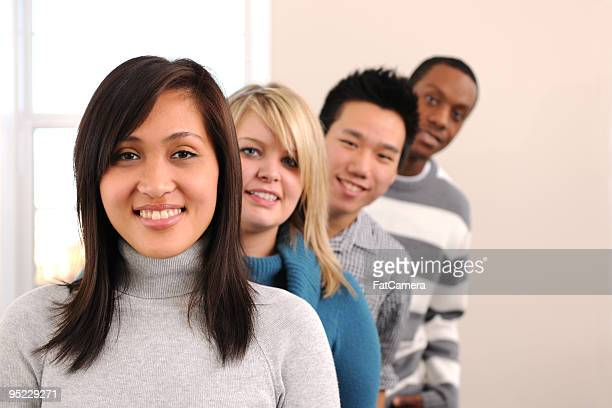 Diverse Young Adults