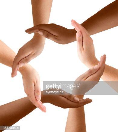Diversificación de las manos en la comunidad