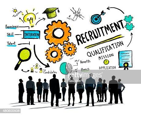 Diversity Business People Recruitment Profession Concept : Stock Photo