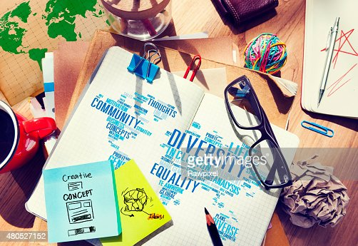 Diversity Ethnicity World Global Community Concept : Stock Photo