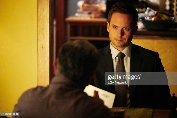 SUITS 'Divide and Conquer' Episode 704 Pictured Patrick J Adams as Michael Ross