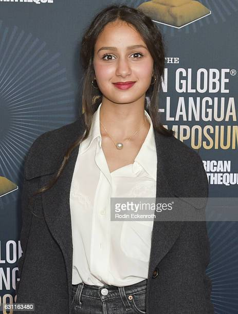 Divines actress Oulaya Amamra attends American Cinematheque Panel Discussion with Golden Globe Nominated ForeignLanguage Directors at the Egyptian...