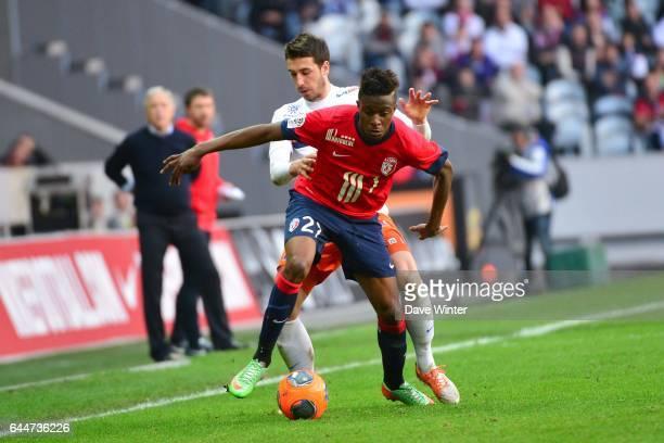 Divock ORIGI / Mathieu DEPLAGNE Lille / Montpellier 28e journee Ligue 1 Photo Dave Winter / Icon Sport