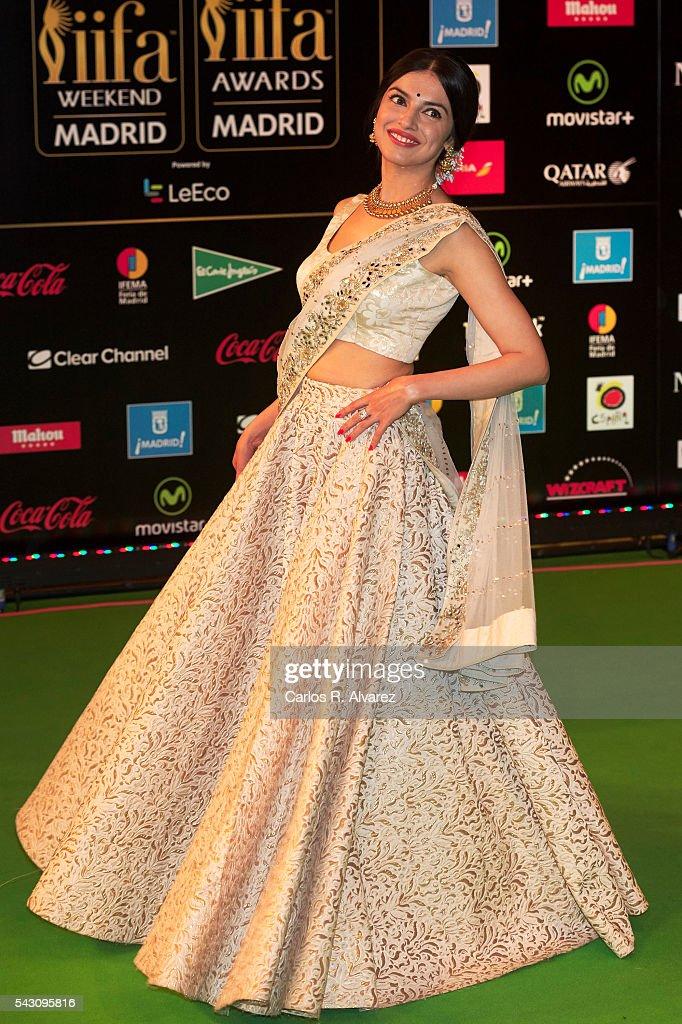 Divya Khosla Kumar attends the 17th IIFA Awards (International Indian Film Academy Awards) at Ifema on June 25, 2016 in Madrid, Spain.