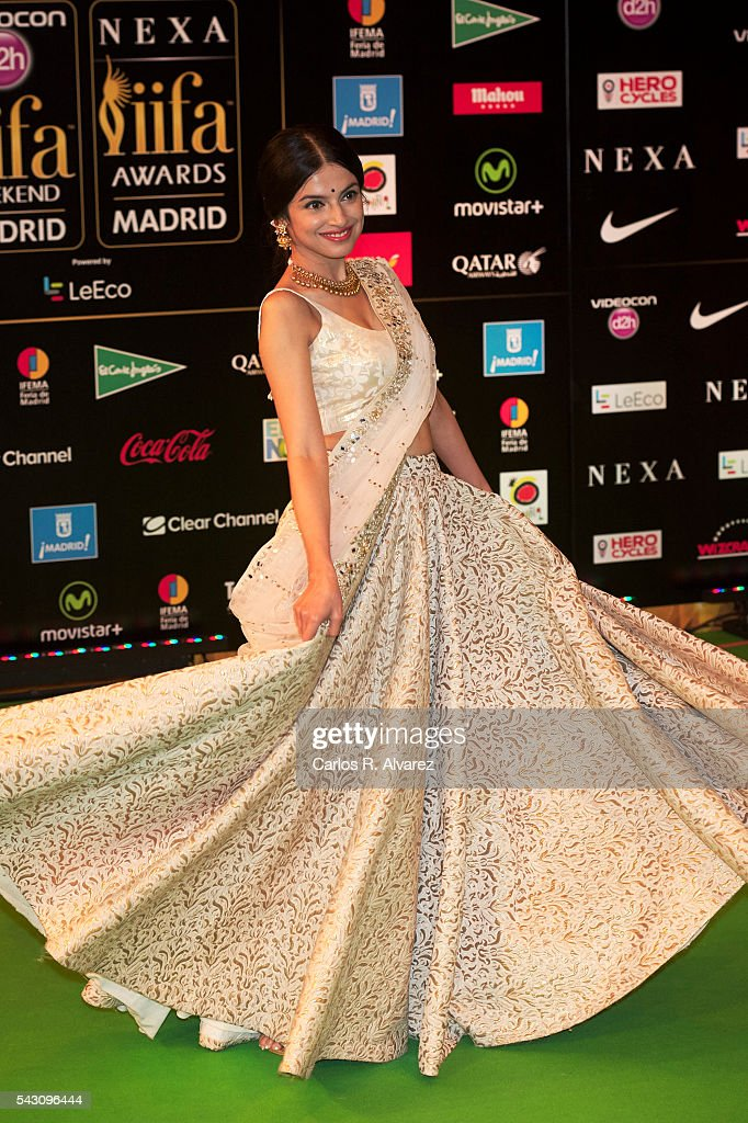 Divya Khosla Kumar attends the 17th IIFA Awards (International Indian Film Academy Awards) at Ifema on June 25, 2016 in Madrid, Spain.