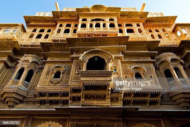 Diwan Nathmal's Haveli Jaisalmer Rajasthan India