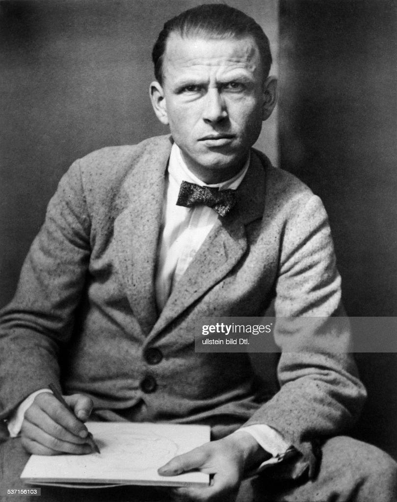 Dix, Wilhelm Heinrich Otto (*02.12.1891-+) , Maler, Grafiker, D, - Portrait, - 1928