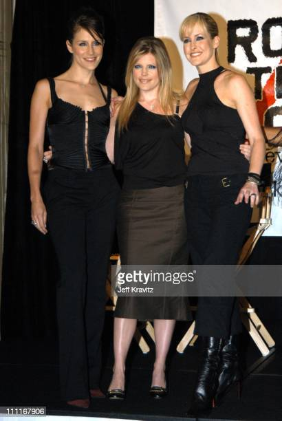 Dixie Chicks during Dixie Chicks Join Forces with Rock the Vote at Casa Del Mar in Santa Monica California United States
