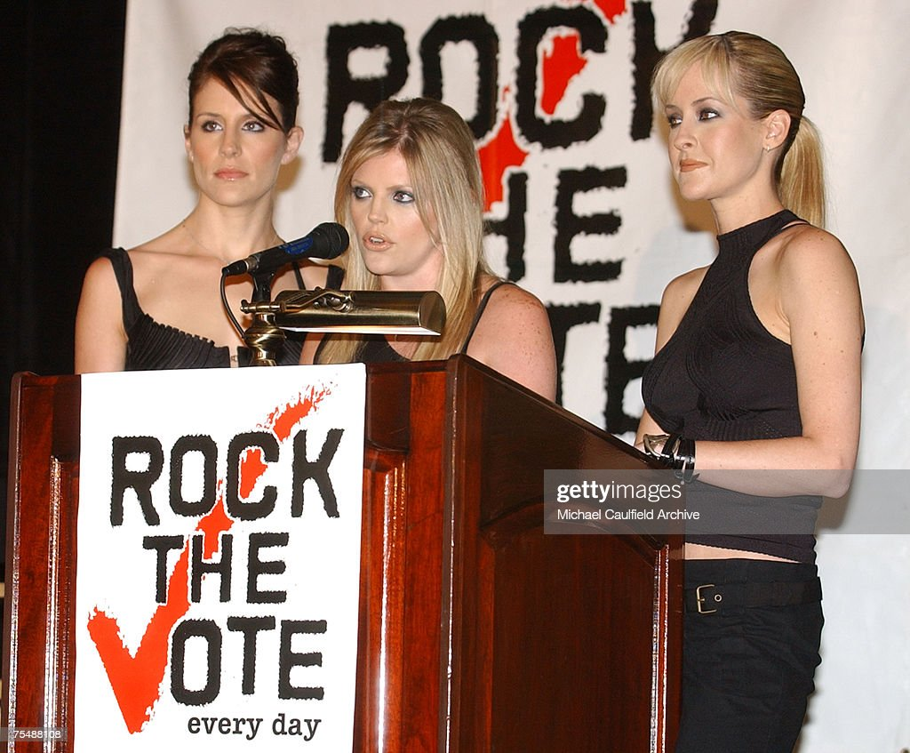 Emily Robison Dixie Chicks Join Forces With Rock The Vote Photos And Images