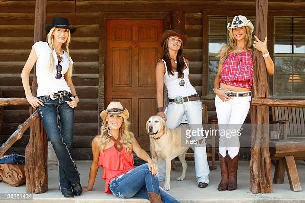 COUNTY 'Dixie Dude Ranch' Pictured Peggy Tanous Gretchen Rossi Fernanda Rocha Alexis Bellino
