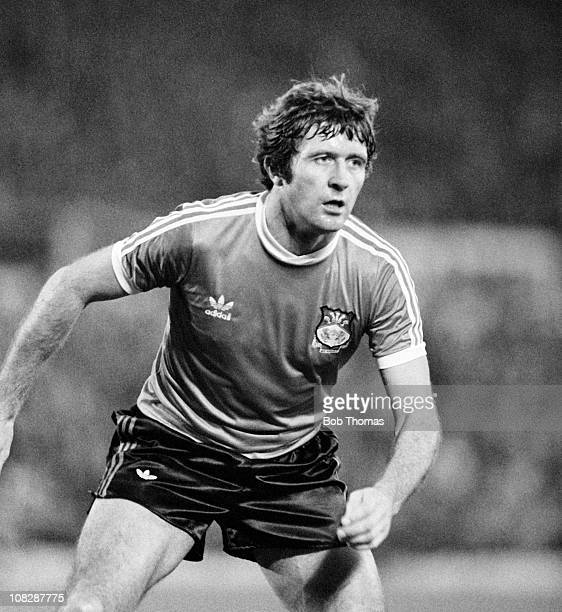 Dixie McNeil of Wrexham during the Leicester City v Wrexham Division 2 match played at Filbert Street Leicester on the 24th November 1979 Leicester...
