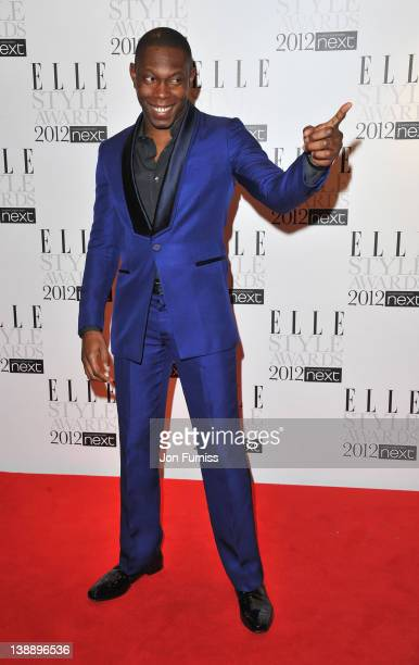 Dizzee Rascal arrives at the ELLE Style Awards at The Savoy Hotel on February 13 2012 in London England