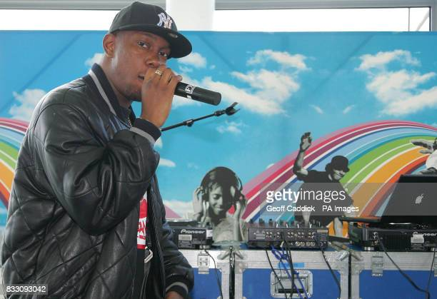 Dizzee Rascal at City Hall London he performed an exclusive gig to celebrate the launch of a new website wwwsummerunilondonorg part of the Summer Uni...