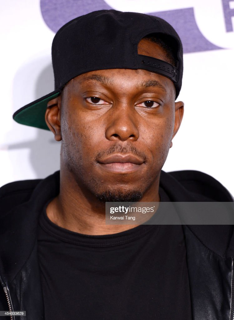 <a gi-track='captionPersonalityLinkClicked' href=/galleries/search?phrase=Dizzee+Rascal&family=editorial&specificpeople=214675 ng-click='$event.stopPropagation()'>Dizzee Rascal</a> attends on day 2 of the Capital FM Jingle Bell Ball at the 02 Arena on December 8, 2013 in London, England.