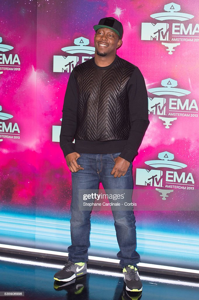 Dizzee Rascal attends the MTV EMA's 2013 at the Ziggo Dome in Amsterdam, Netherlands.
