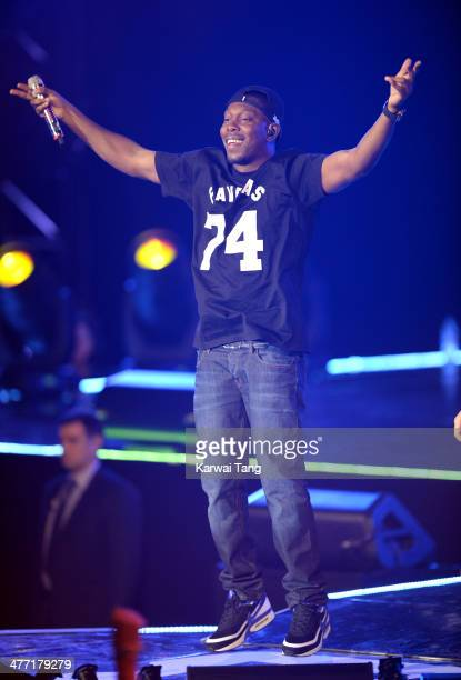 Dizzee Rascal onstage at We Day UK a charity event to bring young people together at Wembley Arena on March 7 2014 in London England