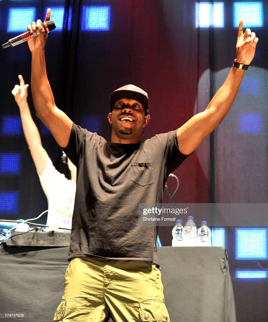 Dizzee Rascal performs at Key 103 Live at Manchester Arena on July 28, 2013 in Manchester, England.