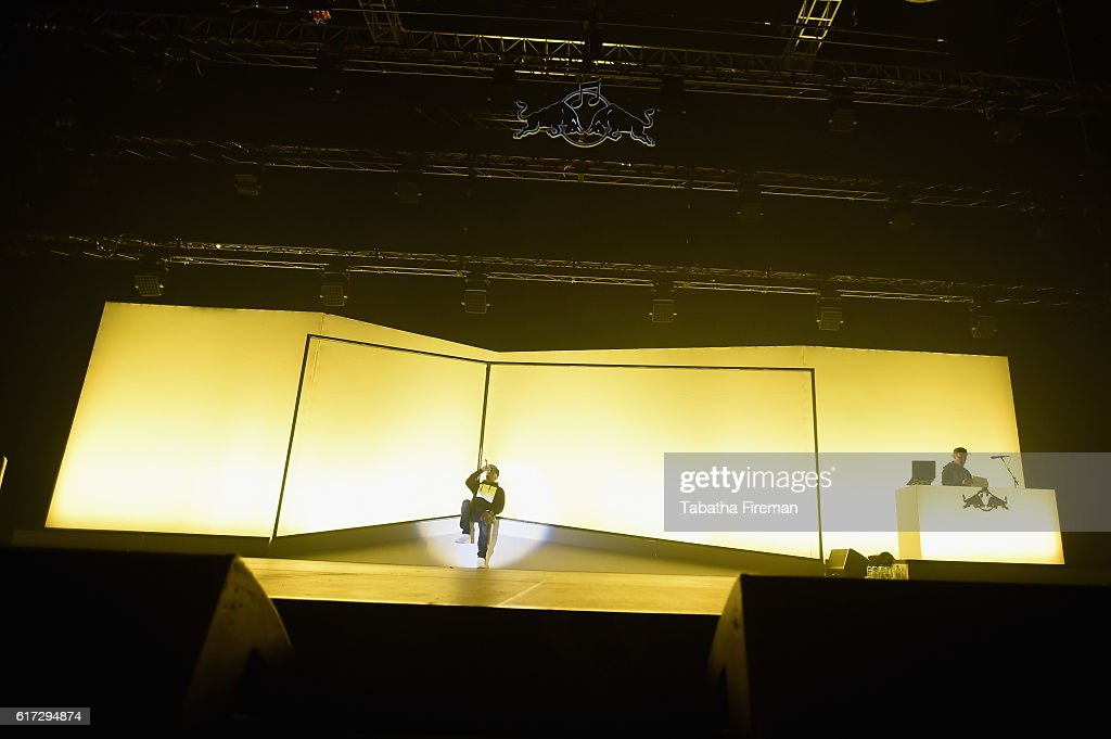 Dizzee Rascal performs his debut album Boy In Da Corner Live as part of the Red Bull Music Academy UK Tour at Copper Box Arena on October 22, 2016 in London, England.