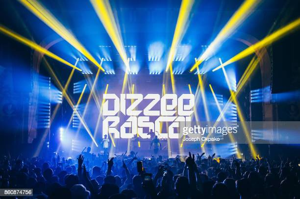 Dizzee Rascal performs live on stage at O2 Academy Brixton on October 12 2017 in London England