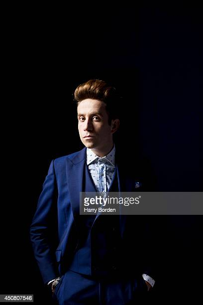 Dj and tv presenter Nick Grimshaw is photographed for the Sunday Times magazine on September 17 2013 in London England