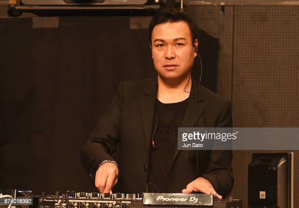 Dj Daishi Dance during the Miss International Beauty Pageant 2017 at the Tokyo Dome City Hall on November 14 2017 in Tokyo Japan