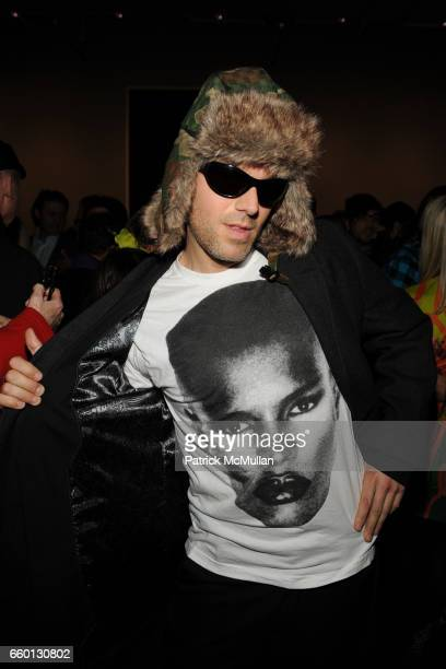 Dj Gant Johnson attends ROGER PADILHA MAURICIO PADILHA Celebrate Their Rizzoli Publication THE STEPHEN SPROUSE BOOK Hosted by DEBBIE HARRY And TERI...