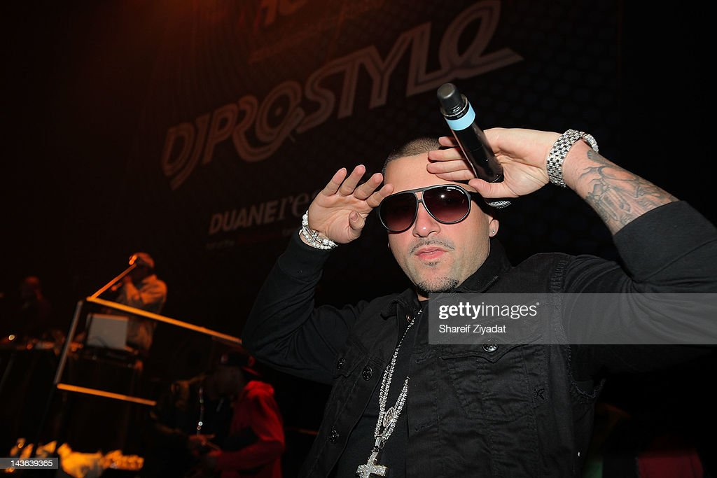 Dj Pro Styles attends the DJ ProStyle Birthday Concert at Hammerstein Ballroom on April 30, 2012 in New York City.