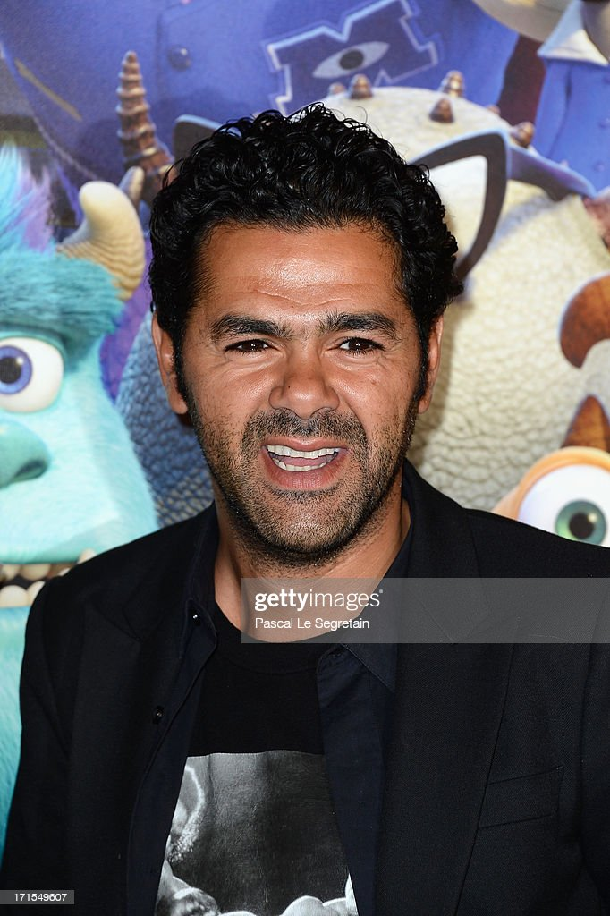 Djamel Debbouze attends the Paris premiere of 'Monsters University' at La Sorbonne on June 26, 2013 in Paris, France.