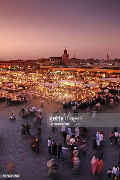 Djemaa El Fna, Marrakech, Marrocos