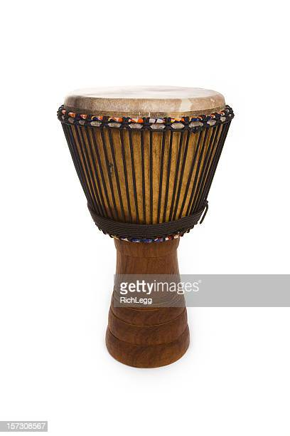Djembe Drum Isolated on White