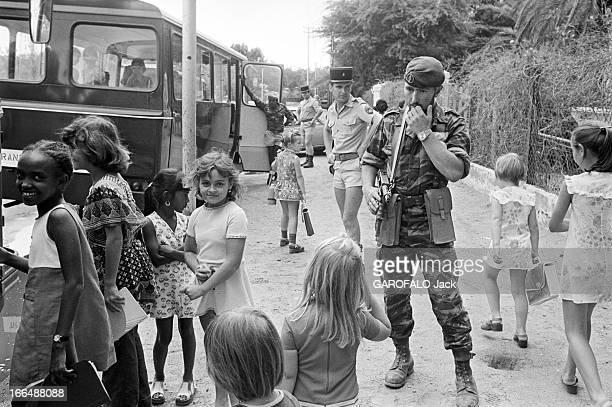 Djibouti Kidnapping Of A School Bus In 1976 DJIBOUTI 10 février 1976 prise d'otages d'un car scolaire avec 30 enfants enlevés par un commando du...