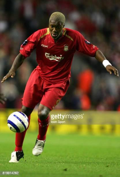 Djibril CISSE Liverpool / Chelsea 1er tour Champions League