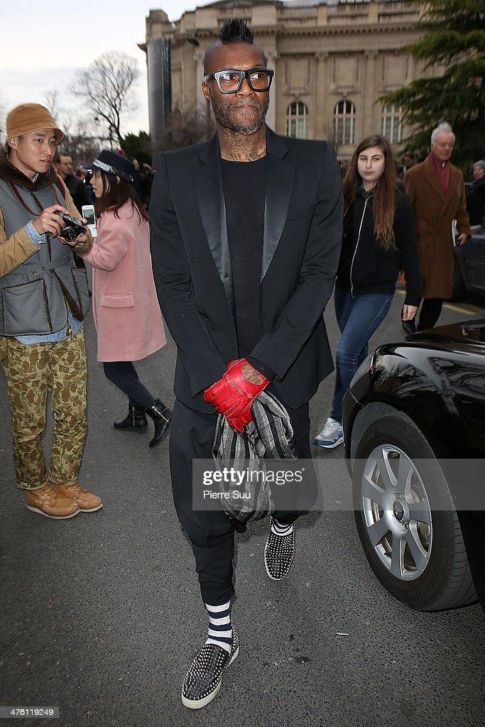 Celebrity Sighting At Paris Fashion Week - March 2nd - Womenswear Fall/Winter 2014-2015